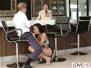 LoveHerFeet - Sneaky hotwife foot lovemaking With The Realtor