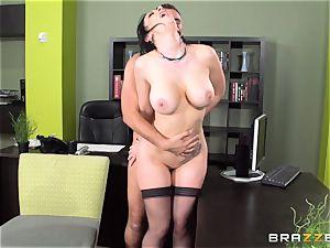secretary Jayden Jaymes is punished for her mistake