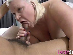 british granny deepthroats lollipop