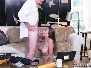 Latino dad and ambidextrous cheating stud first time Ivy impresses with her thick udders and booty