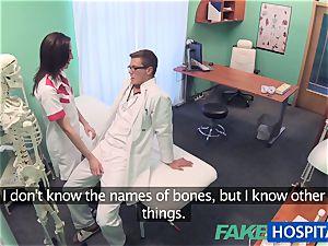 FakeHospital Minx deepthroats and screws to get a job