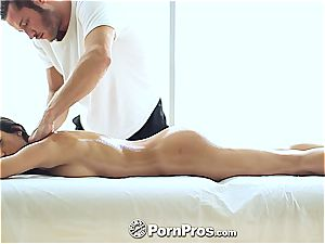 fancy Chloe Amour kneaded and sated well