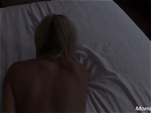 molten platinum-blonde cougar internal ejaculation gusto