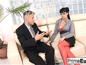 Aletta Ocean gets anally romped on the bed