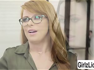 molten Therapist Penny Pax gets her gash plumbed by customer Whitney Wrights