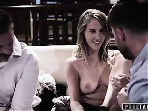 pure TABOO stunner Tricked Into vengeance 3 way with Strangers