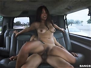 chinese stunner picked up and pounded