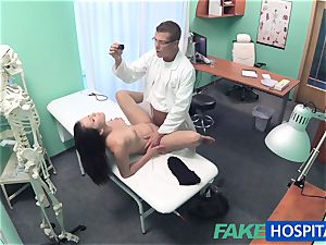 FakeHospital medic investigates adorable hot mind-blowing patient