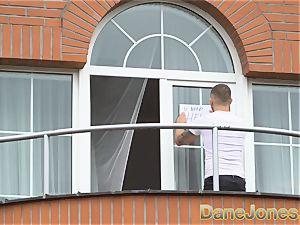 Dane Jones voyeur romps his fabulous neighbour