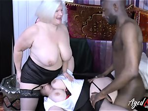 AgedLovE Lacey Starr multiracial 3 way