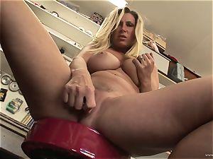 steamy Devon Lee loves teasing her saucy moist pleasure button
