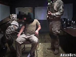 Arab bitch Sneaking in the Base!