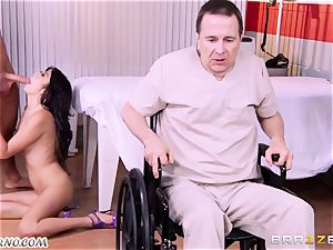doc plows his patient's stepdaughter Miko Dai